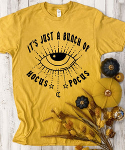 It's Just A Bunch Of Hocus Pocus Tee - Ginger