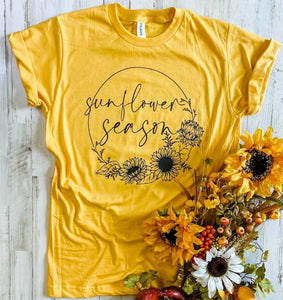 Sunflower Season Tee