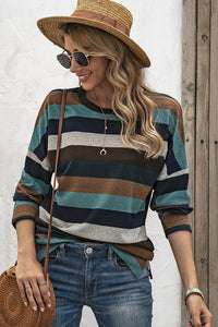 Cozy Knitted Stripped Top