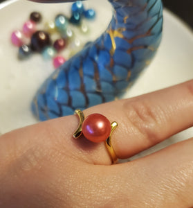 Elegant Mounted Ring