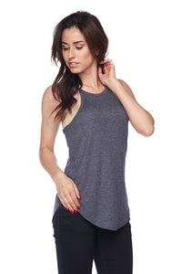 Haltered Neck Tank Top Navy