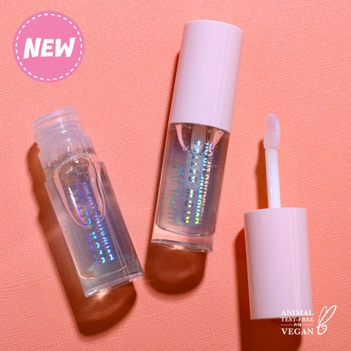 Moira Cosmetics - Glow Getter Hydrating Lip Oil (001, Sky Blue)