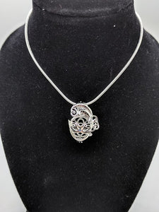 Sterling Silver Mask Locket