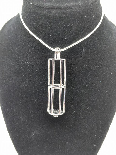 Sterling Silver Stacker Locket
