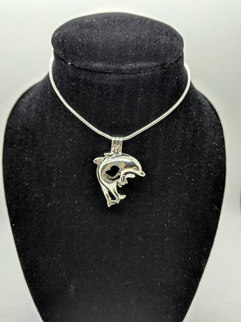 Dolphins Jumping Locket