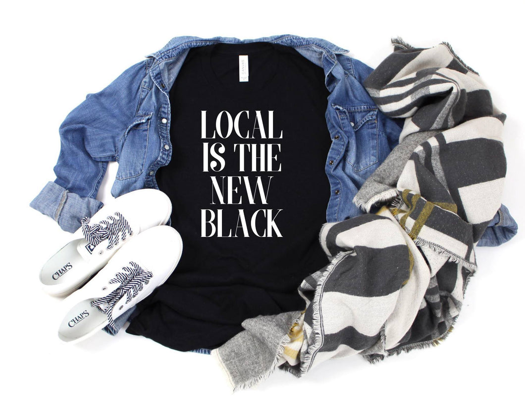 Local Is The New Black Tee