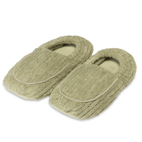 Warmies® - Spa Therapy Slippers Spa Green
