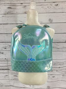 Blue Mermaid Back Pack