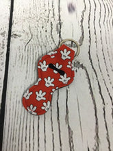 Lip Balm Holder Key Chain - Mouse Hands