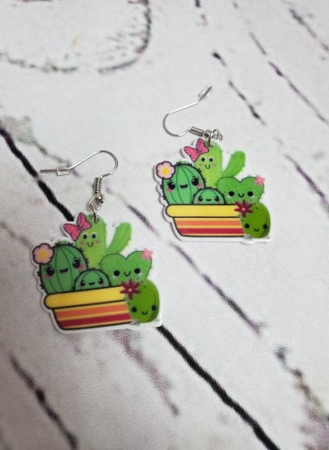 Cactus Crew Earrings