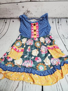 Colorful Flower Dress