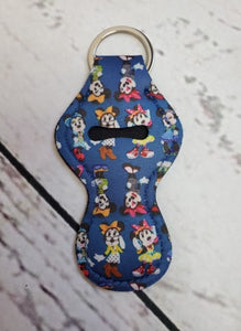 Lip Balm Holder Key Chain -  Minnie
