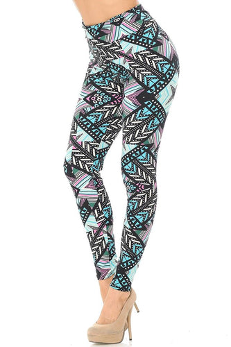 Pastel Tribal Leggings