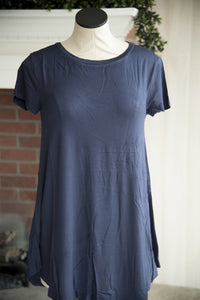 Navy Short Sleeve Tee