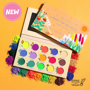Moira Cosmetics - Blooming Series-01 Garden of My Mind Pressed pigment Palette