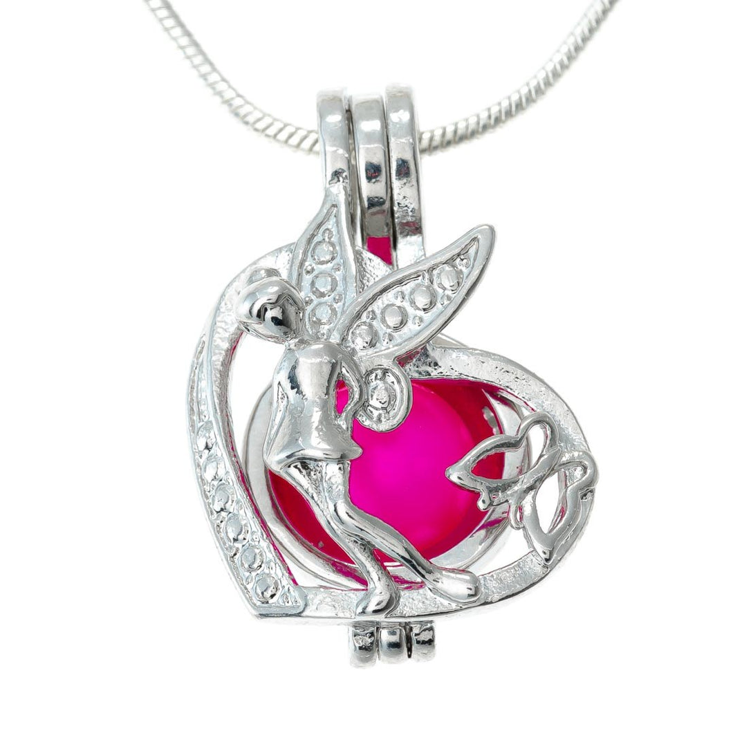 TinkerBell with Butterfly Heart Locket
