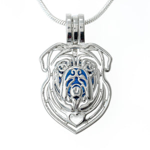 Dog Large Bull Locket