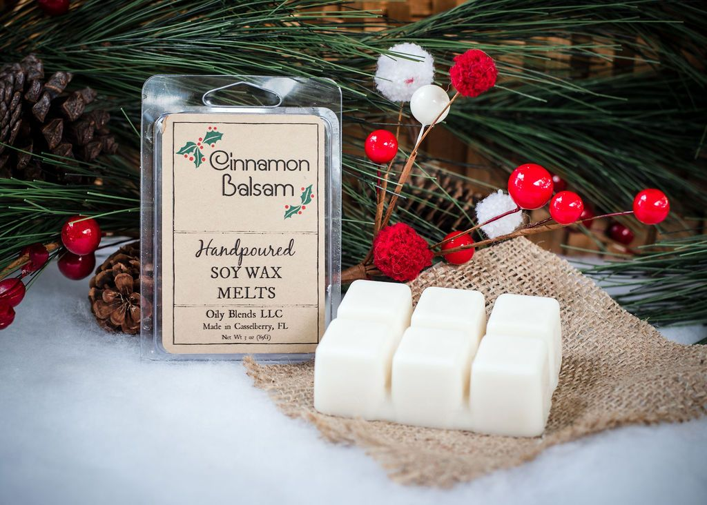 Christmas Scented Soy Wax Melts - 3 oz