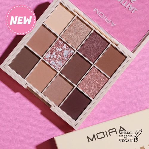 Moira Cosmetics - Essential Collection Pressed Pigment palette- Essential Nude