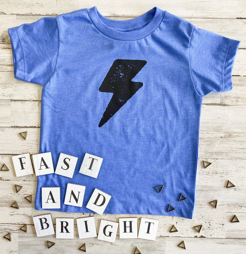 Lightning Bolt Toddler Tee