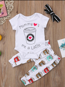Mommy's Latte 3 Piece Outfit