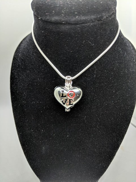 Sterling Silver Love Heart Locket
