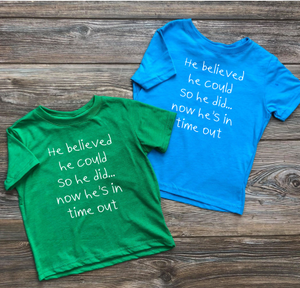 Kids He Believed Tee