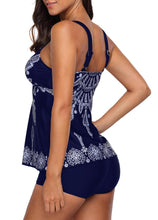 Navy Tankini Top and Shorts