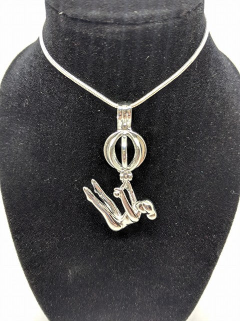 Gymnast Locket
