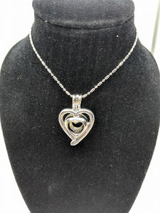 Double Heart Locket