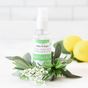 Mask Refresher Spray-Herbal Mint Scent