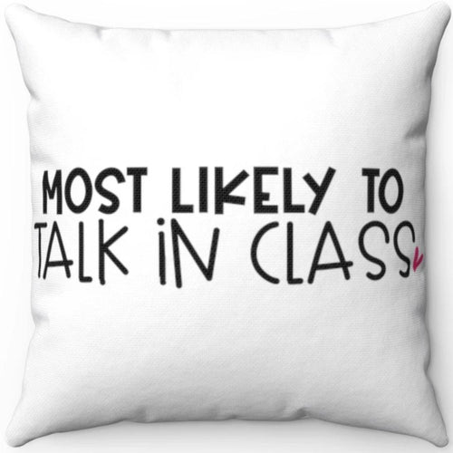 Most Likely To Talk In Class 18