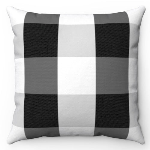 Black & White Buffalo Plaid 18
