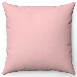 "Baby Pink 16"" 18"" Or 20"" Square Throw Pillow Cover"