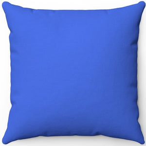 "Royal Blue 16"" 18"" Or 20"" Square Throw Pillow Cover"