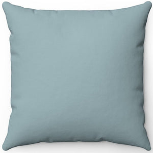 "Retro Dusty Green Solid 16"" 18"" Or 20"" Square Throw Pillow Cover"