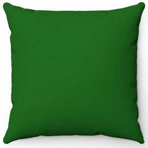 "Dark Green 16"" 18"" Or 20"" Square Throw Pillow Cover"
