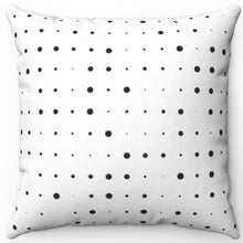 "Load image into Gallery viewer, Abstract Pinpoint Design 16"" 18"" Or 20"" Square Throw Pillow Cover"