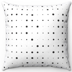 "Abstract Pinpoint Design 16"" 18"" Or 20"" Square Throw Pillow Cover"