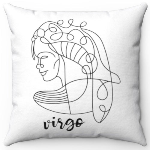 Virgo Black & White Printed Design 16