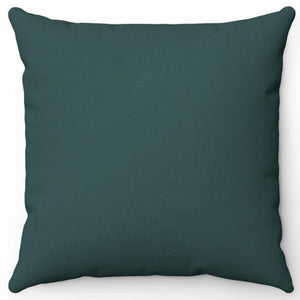 "Dark Grey Slate 16"" 18"" Or 20"" Square Throw Pillow Cover"
