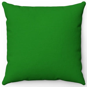 "Standard Green 16"" 18"" Or 20"" Square Throw Pillow Cover"