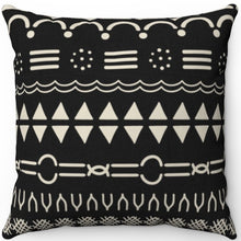"Load image into Gallery viewer, Mudcloth Style 16"" 18"" Or 20"" Square Throw Pillow Cover"
