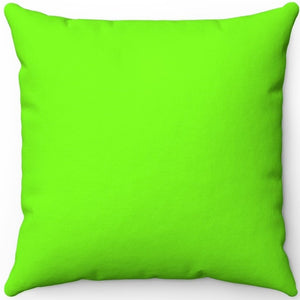 "Lawn Green 16"" 18"" Or 20"" Square Throw Pillow Covers"