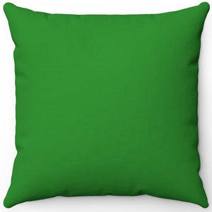 "Forest Green 16"" 18"" Or 20"" Square Throw Pillow Cover"