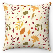 "Load image into Gallery viewer, Autumn Leaves Are Falling 20"" x 20"" Throw Pillow Cover"