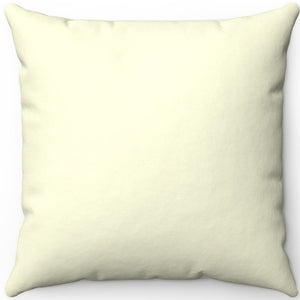 "Light Yellow 16"" 18"" Or 20"" Square Throw Pillow Cover"