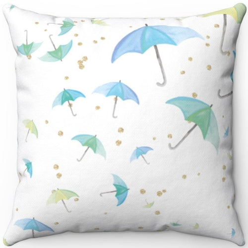 Whimsical Watercolor Umbrellas 18