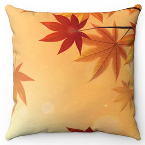 "Autumn Is In The Air 20"" x 20"" Throw Pillow Cover"