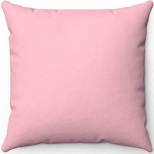 "Pink 16"" 18"" Or 20"" Square Throw Pillow Cover"